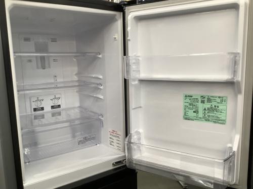 2ドア冷蔵庫のMITSUBISHI ミツビシ
