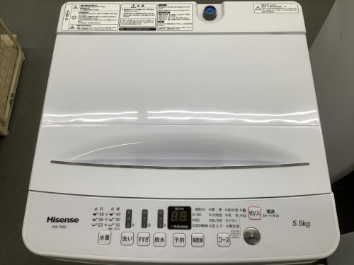 全自動洗濯機のHisense