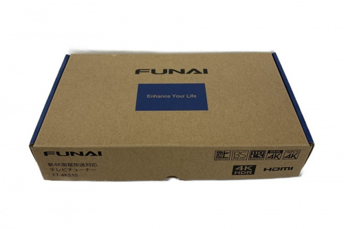 新4K衛星放送対応テレビチューナーのFUNAI