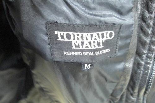 TORNADO MARTのレザージャケット