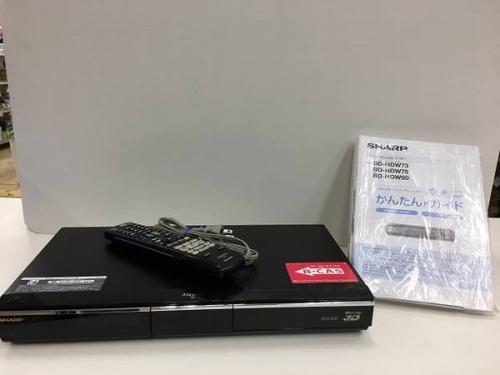 デジタル家電のHDDレコーダー