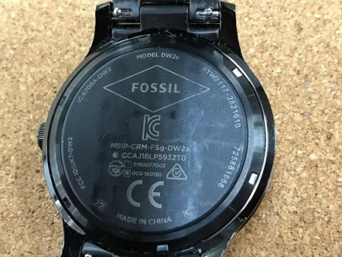 スマートウォッチのFOSSIL