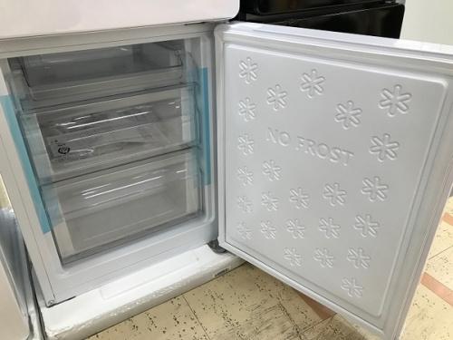 2ドア冷蔵庫のハイアール
