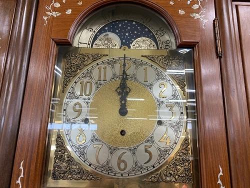 柱時計のショーケース