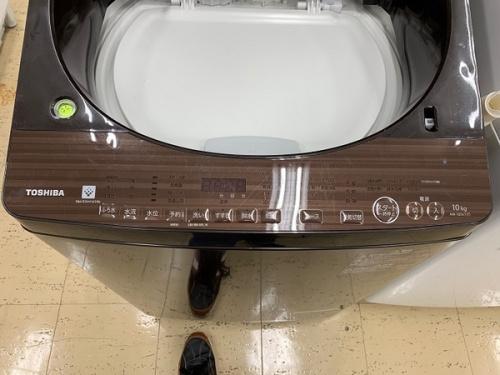 全自動洗濯機の東芝