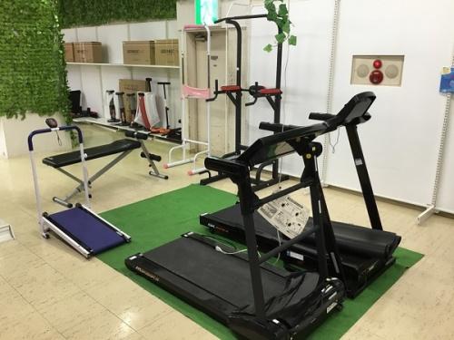 スポーツ用品買取のトレーニング用品