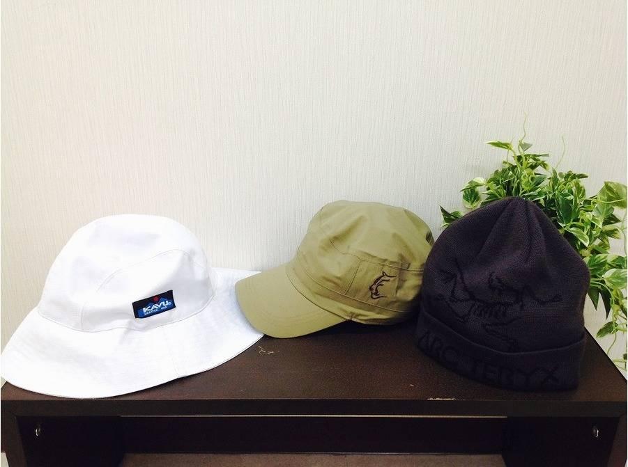 【TFスポーツ青葉台店】ファッションとしても使用可能!幅広い使い方ができる帽子たち!