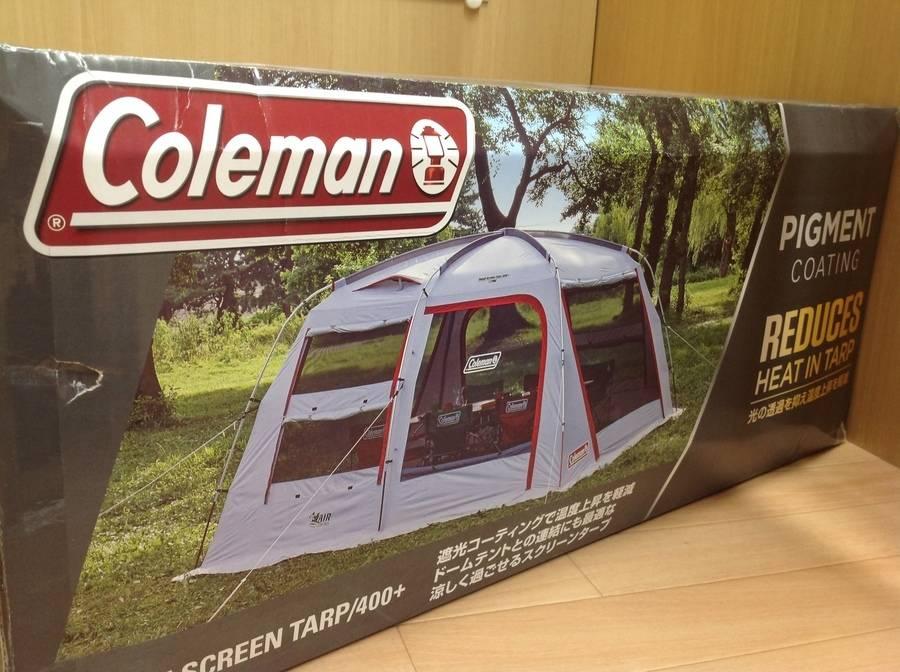 【TFスポーツ青葉台】Colemanの2018新商品!スクリーンタープ400+入荷!