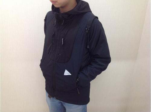 ジャケットのアウトドア用品