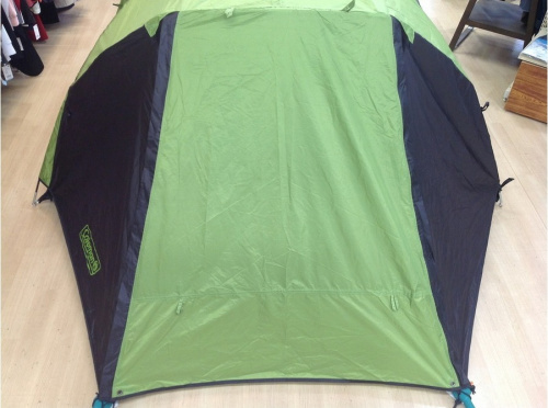 キャンプ用品のコールマン テント