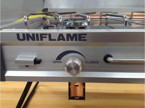 ユニフレームのツインバーナー US-1900