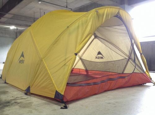 キャンプ用品のMSR