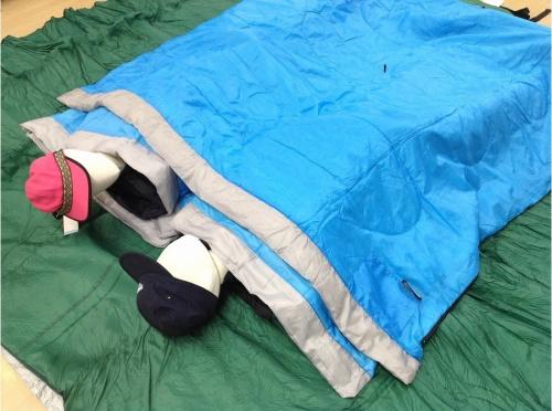 寝袋の活用法