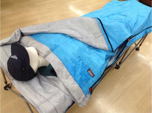 シュラフの寝袋