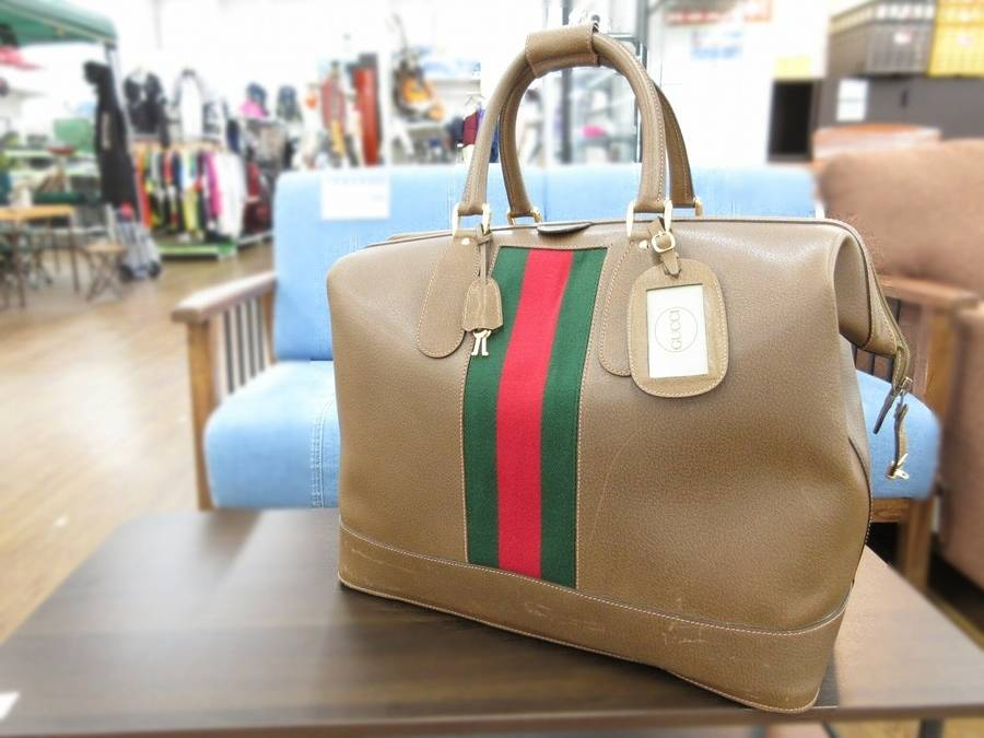 on sale cec6a 099ee オールドグッチ☆シェリーラインのボストンバッグ入荷しました ...