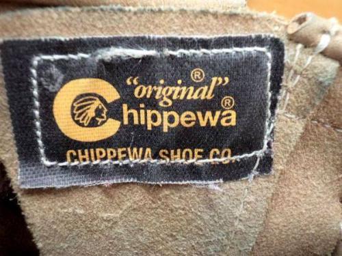 エンジニアブーツのチペワ(CHIPPEWA)