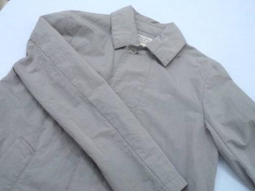 メンズファッションのステンカラーコート