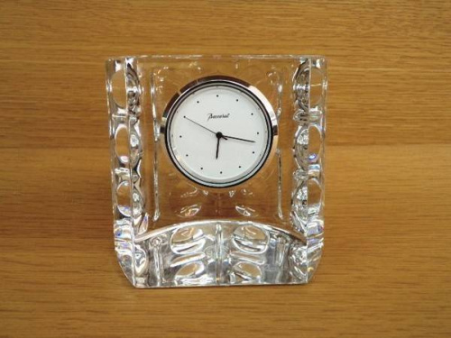 バカラ(Baccarat)の置時計
