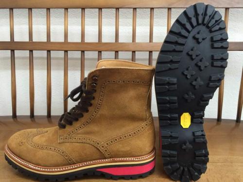 ブーツのHIROSHI TSUBOUCHI
