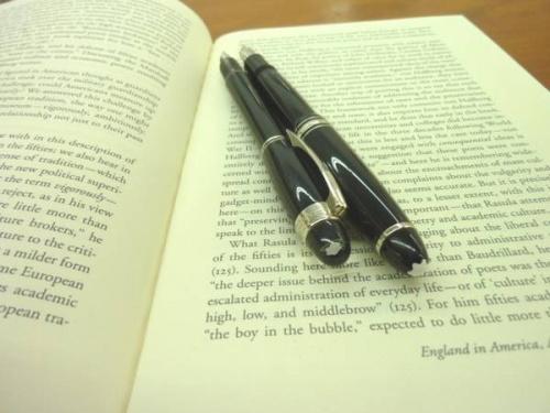 モンブランの万年筆