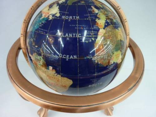 インテリア雑貨の地球儀