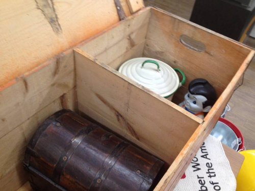 アメリカン雑貨の木箱