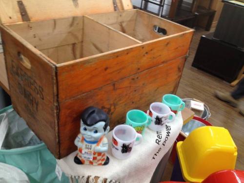 木箱のアンティーク