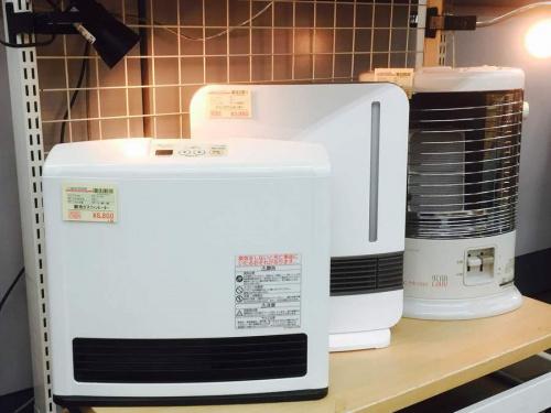 冬家電の空気清浄機