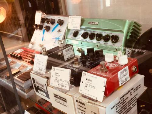 エレキギターの中古楽器