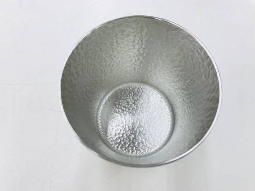 タンブラーの錫製
