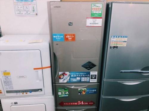 生活家電の中古大型冷蔵庫