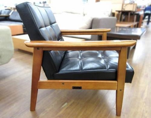 多摩 中古家具 買取の中古 カリモク60 一人掛けソファー