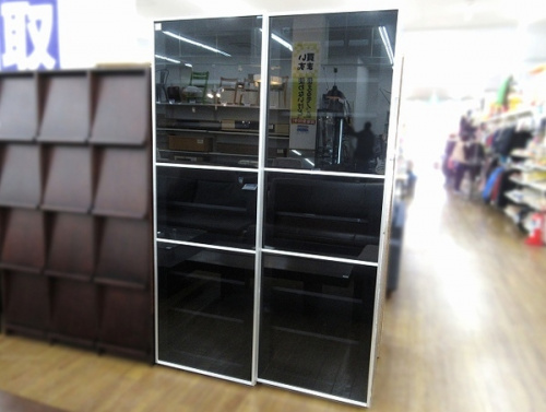 カップボード サイドボード 本棚のcrastina 中古 家具