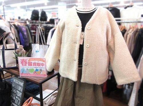未使用品のジャケット