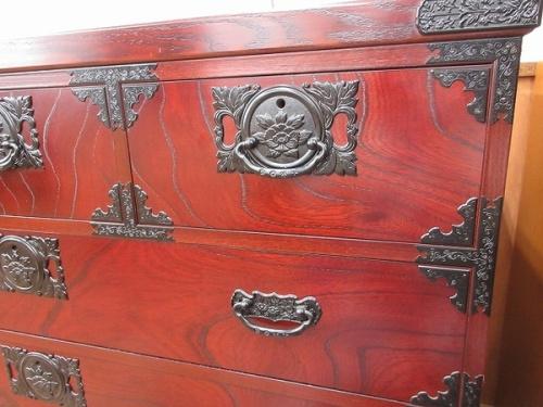 和家具 民芸家具 箪笥の飛鳥工芸 欅箪笥 中古