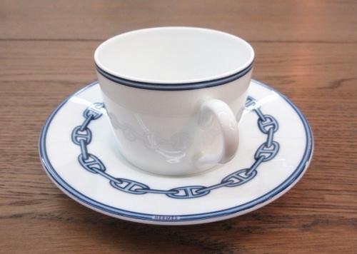 洋食器のモーニングカップ&ソーサー