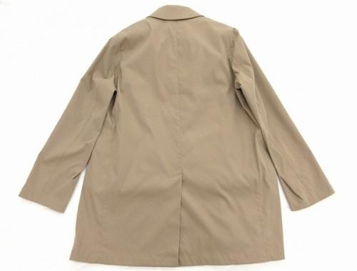 メンズ ジャケットのストレッチカルゼステンカラーコート