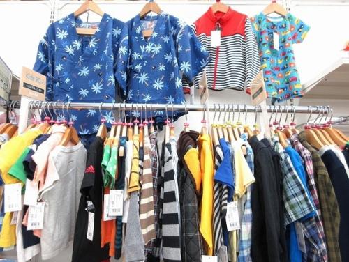 ファッションのキッズ 夏物衣類