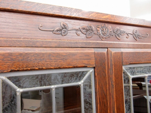 食器棚 中古 買取のブルージュ 英国カントリー