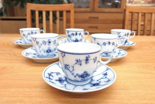 洋食器のコーヒーカップ&ソーサー