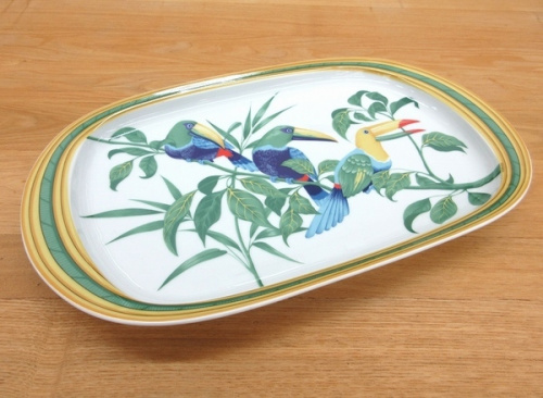 洋食器のオーバルプレート 中古 洋食器 買取