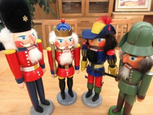 くるみ割り人形のドイツ製 中古 雑貨