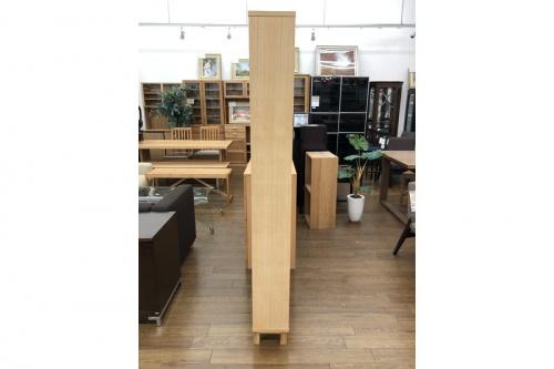 組み合わせて使える木製収納の無印良品