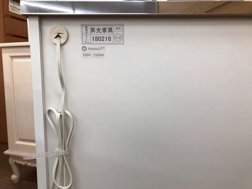 未使用 カウンターのキッチンカウンター