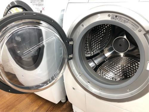 HITACHI ドラム式の多摩 中古 洗濯機