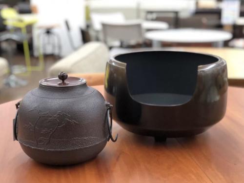 茶道具の風炉