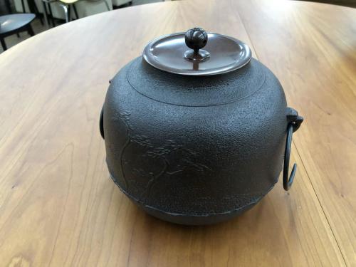 風炉の茶釜
