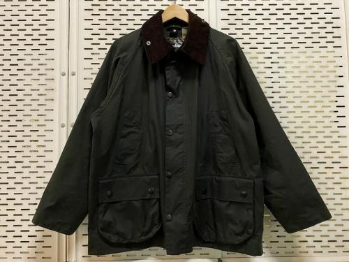 Barbourのオイルドジャケット
