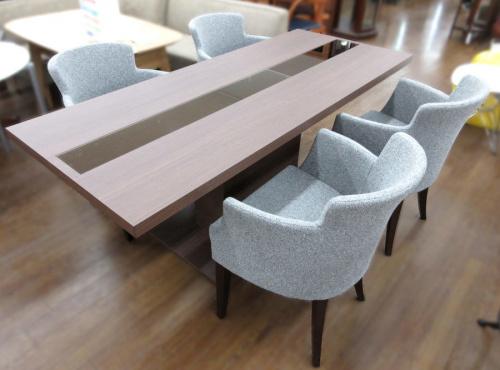 家具のテーブル ダイニング5点セット