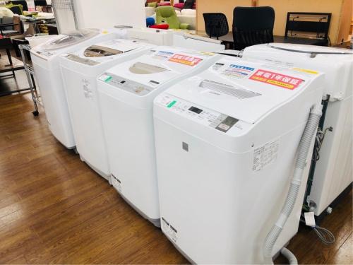 家電の洗濯機 SHARP